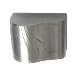 Secamanos carcasa de aluminio satinado sensor electrónico