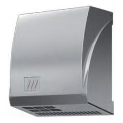 Secador de manos automático, antivandálico, fabricado en aluminio satinado