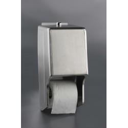 Porta-rollos de papel higiénico doble