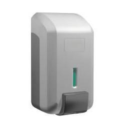 Dosificador de gel de ABS plata de 800ml de capacidad