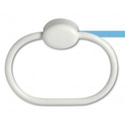 Toallero anilla fabricada en ABS acabado blanco serie 2200