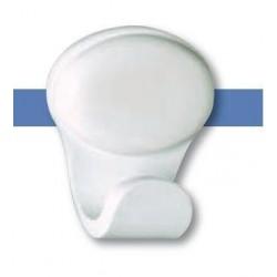 Percha fabricada en ABS acabado blanco serie 2200