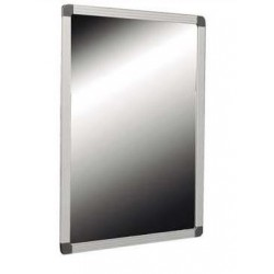Espejo reclinable especial para discapacitados con marco de aluminio anodizado medidas 50X70cm.