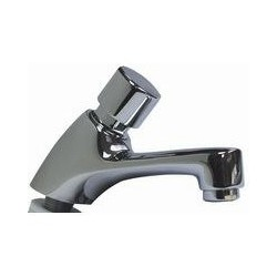 Grifo para lavabo temporizado un agua.