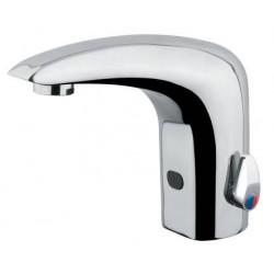 Grifo electrónico mezclador para lavabo con fotocélula