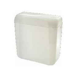 Cisterna baja de ABS blanco