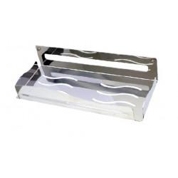 Jabonera porta geles de acero inoxidable AISI304 acabado brillante