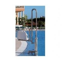 Ascensor acuático fabricado en acero inoxidable con capacidad de elevación 150kg