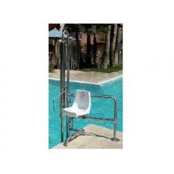 Ascensor acuático fabricado en acero inoxidable con capacidad de elevación 120kg