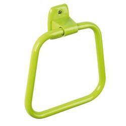 Toallero trapecio pequeño de acero acabado epoxi color
